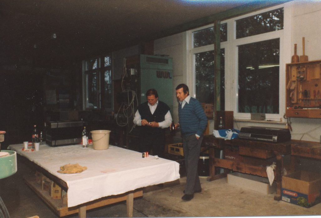 Erster Angestellter Heinzi Burmeister 1975 | Geschichte SchulzeBraak