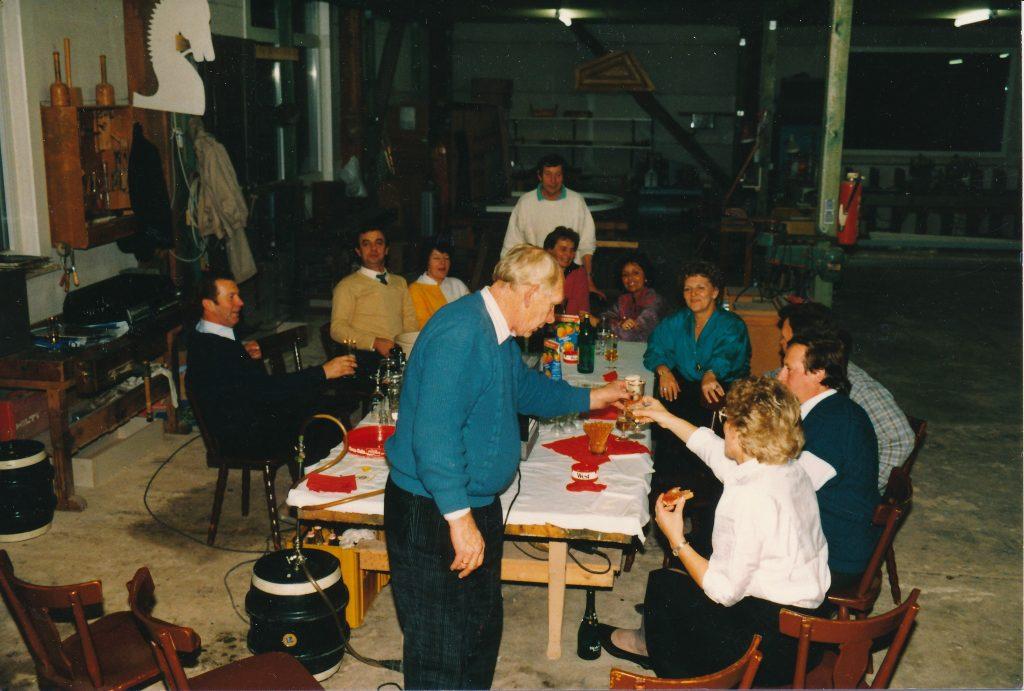 Übernahmefeier Tischlerei Schulze 1996 | Geschichte SchulzeBraak
