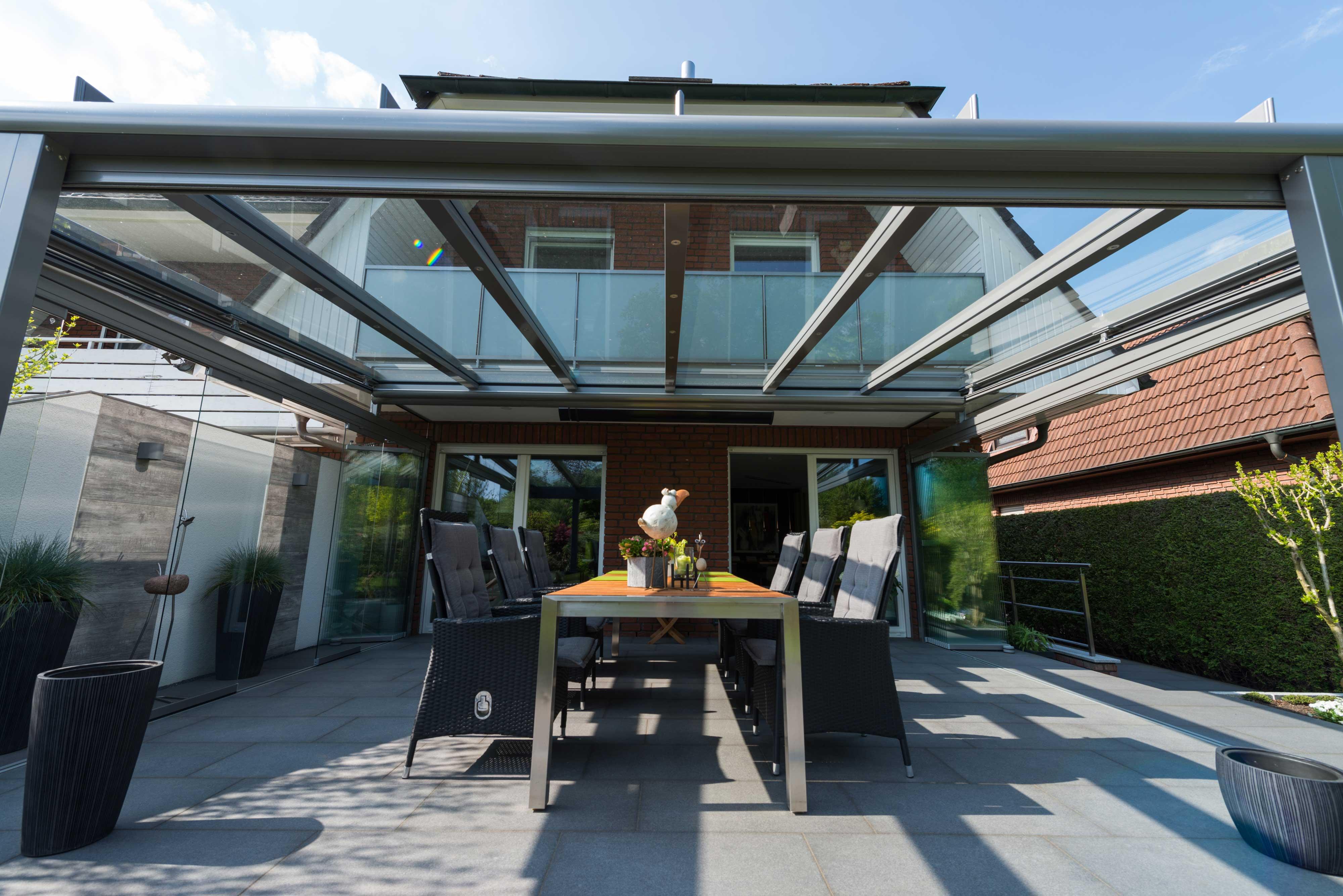 solarlux glashaus in hamburg schulze braak. Black Bedroom Furniture Sets. Home Design Ideas
