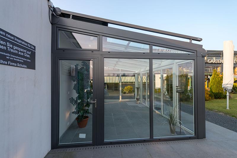 Aluminium Wintergarten in grau/anthrazit | Ratgeber SchulzeBraak