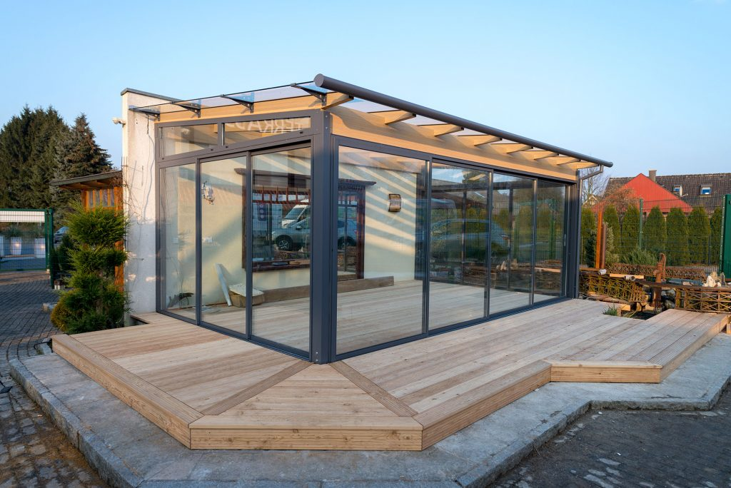 Ausstellung Fur Wintergarten Terrassendacher