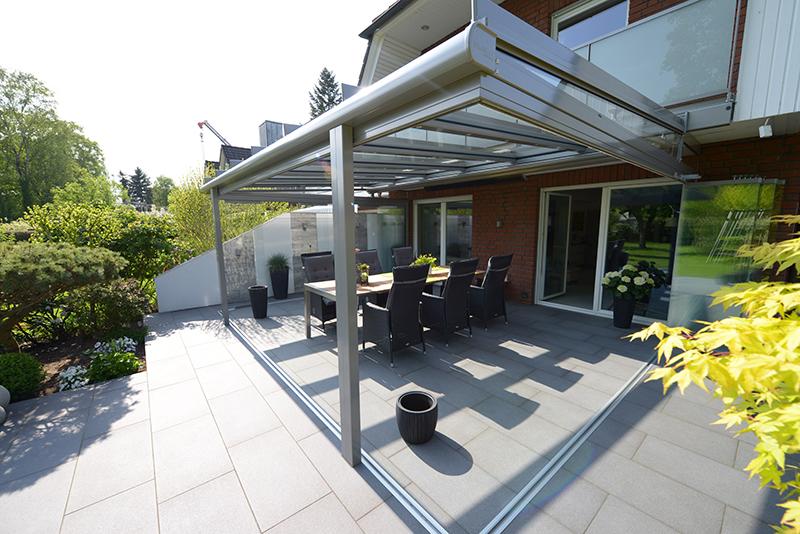 Schiebe-Dreh-Türen bei einem Sommergarten | Ratgeber SchulzeBraak