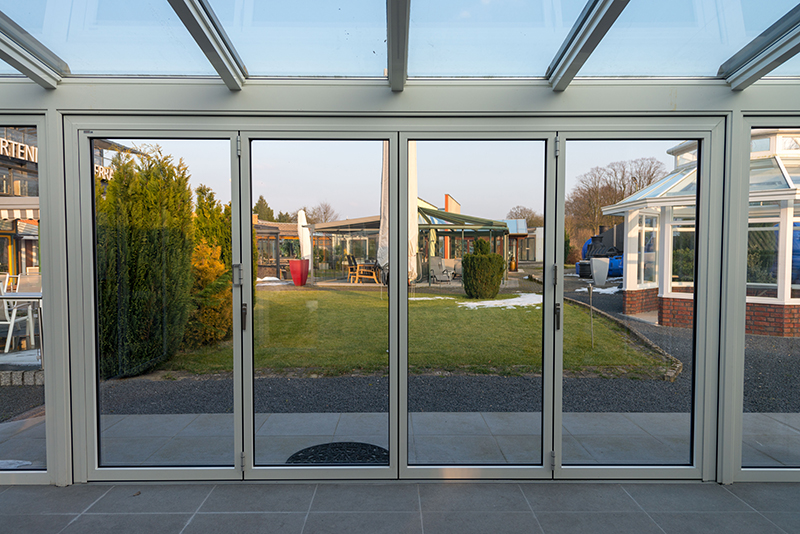 Geschlossene Wintergarten Falttür | Ratgeber SchulzeBraak