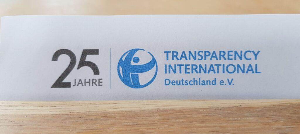 Logo Transparency International