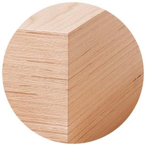 Ansicht Holz Furnierschichtbuche