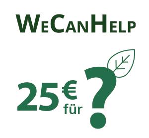 Icon - 25€ für ein soziales Projekt Ihrer Wahl
