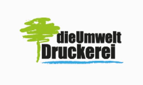 Logo - die Umweltdruckerei