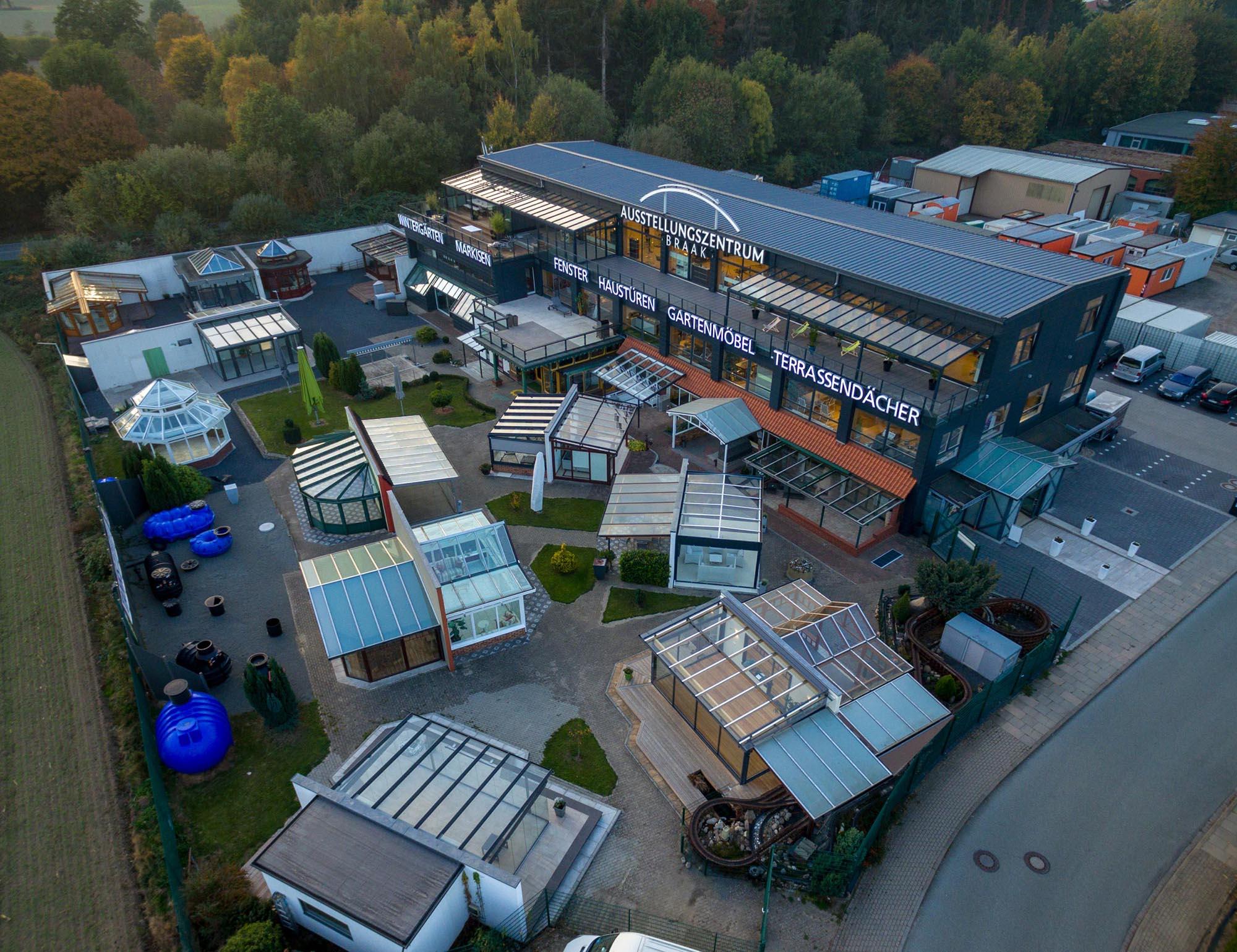 Wintergarten Ausstellung - Ansicht von oben